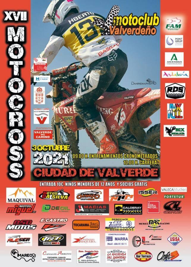 Motocross en Valverde, por Motoclub Valverdeño