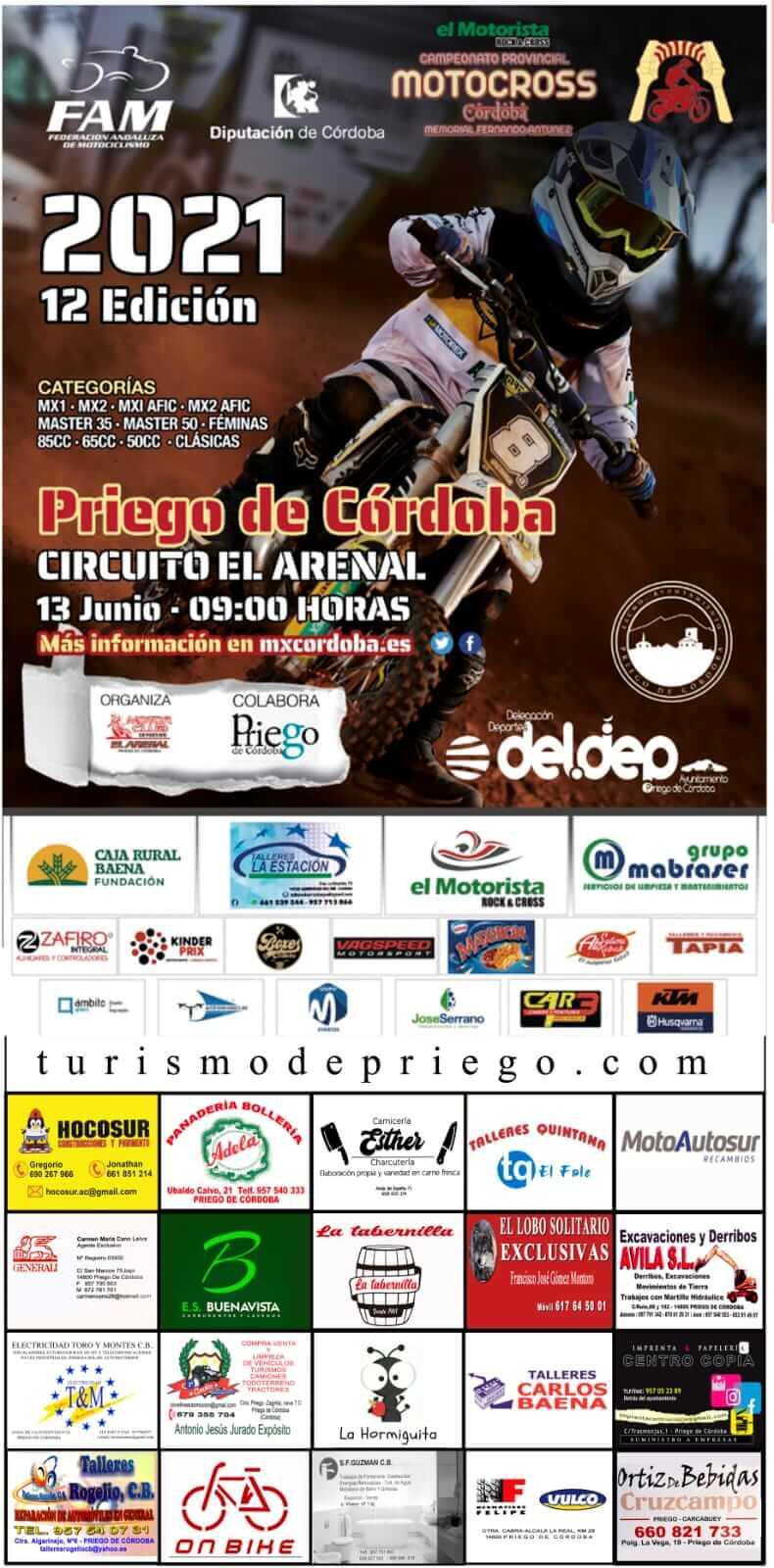 Motocross en Priego de Córdoba