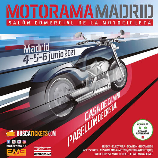 Salón Comercial de la Motocicleta en la Casa de Campo, Madrid