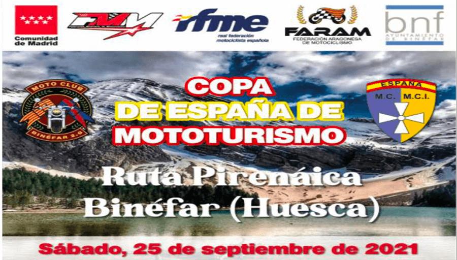 Copa Mototurismo en Binéfar, Huesca