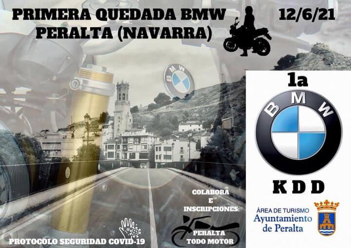 Quedada BMW Motos en Peralta