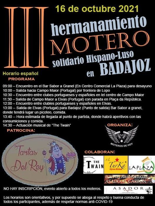 Concentración Motera en Badajoz