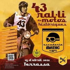 ralli motos históricas en Terrassa