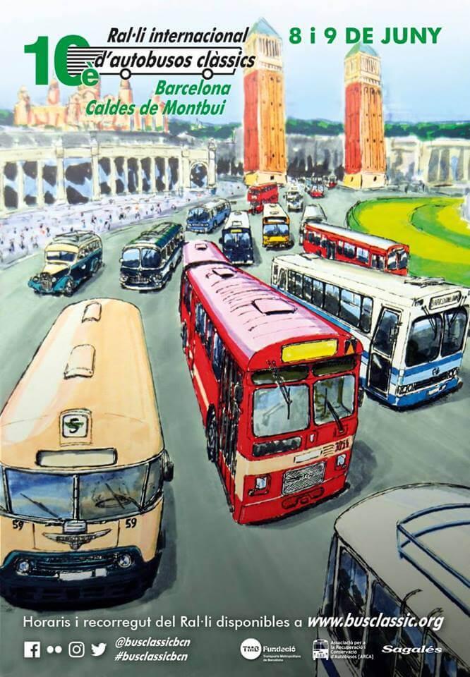 autobuses clasicos Barcelona