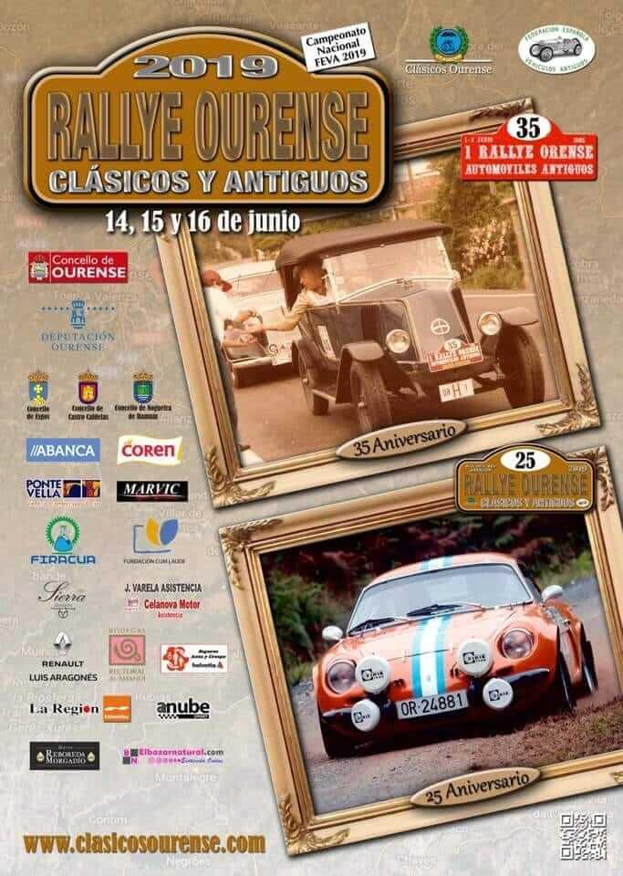 rally coches clasicos Orense