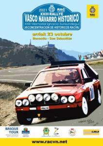 Rally Clásicos Vasco Navarro y Concentración Históricos Racvn