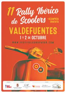 Rally Ibérico de Vespas en Valdefuentes