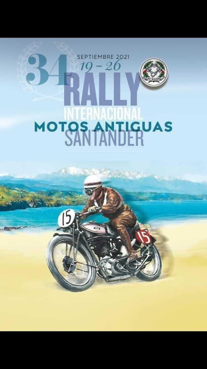 Rally Motos Antiguas en Santander