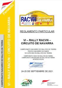 Rally Racvn en Circuito de Navarra