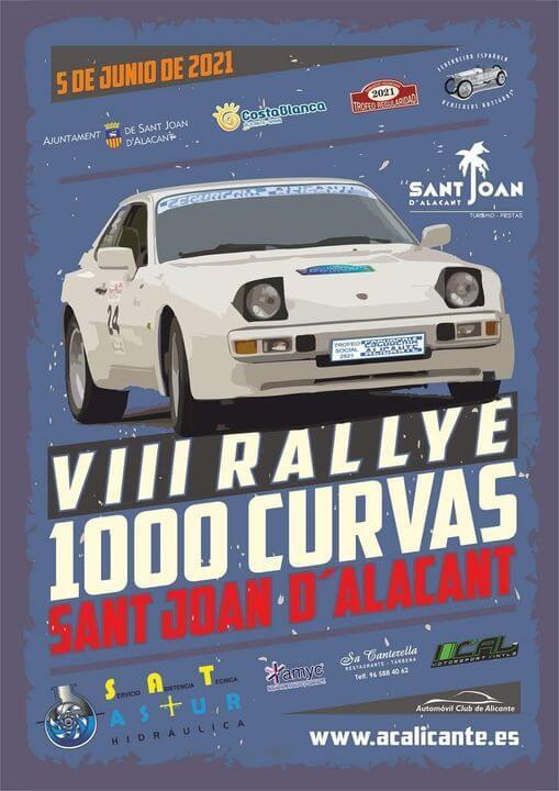 Rally Regularidad 1000 curvas en San Juan, Alicante