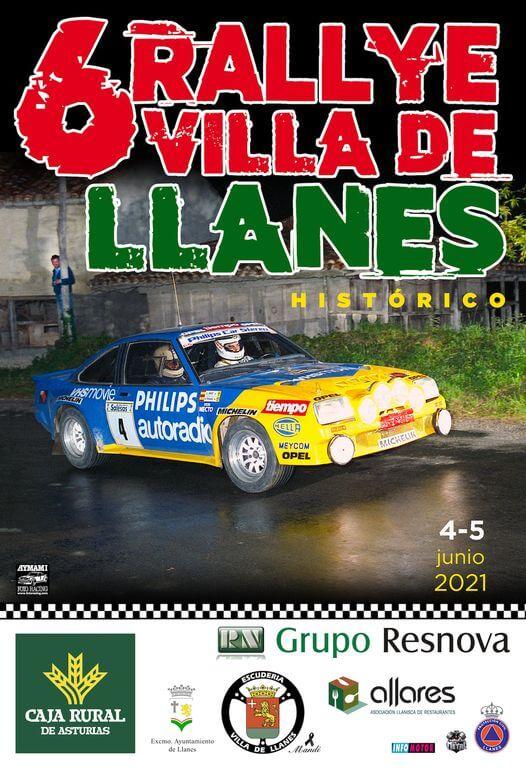 Rallye Regularidad coches clásicos en Llanes, Asturias