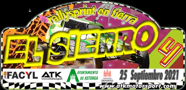 Rallysprint tierra El Sierro en Astorga, León