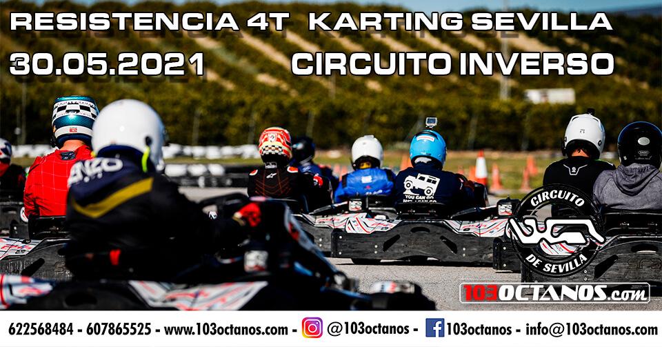 carrera karting resistencia en Sevilla