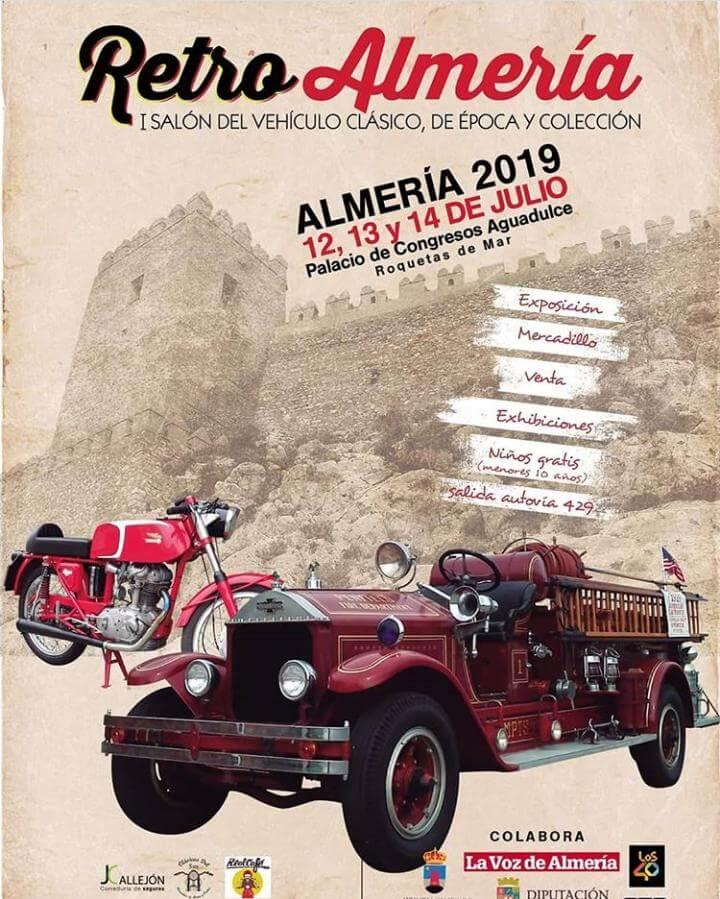 concentraciones coches clasicos Almeria