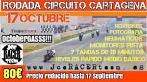 Tandas motos en Circuito de Cartagena, por Joe Racer Team