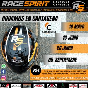Tandas en Circuito de Cartagena RaceSpirit