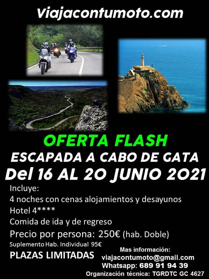 Ruta Motera Cabo de Gata