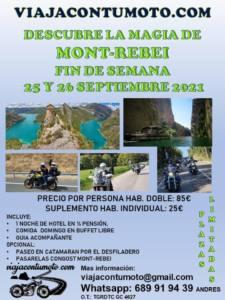Viaje motero por Mont-Rebei