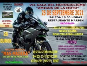 Ruta mototurista en Asturias