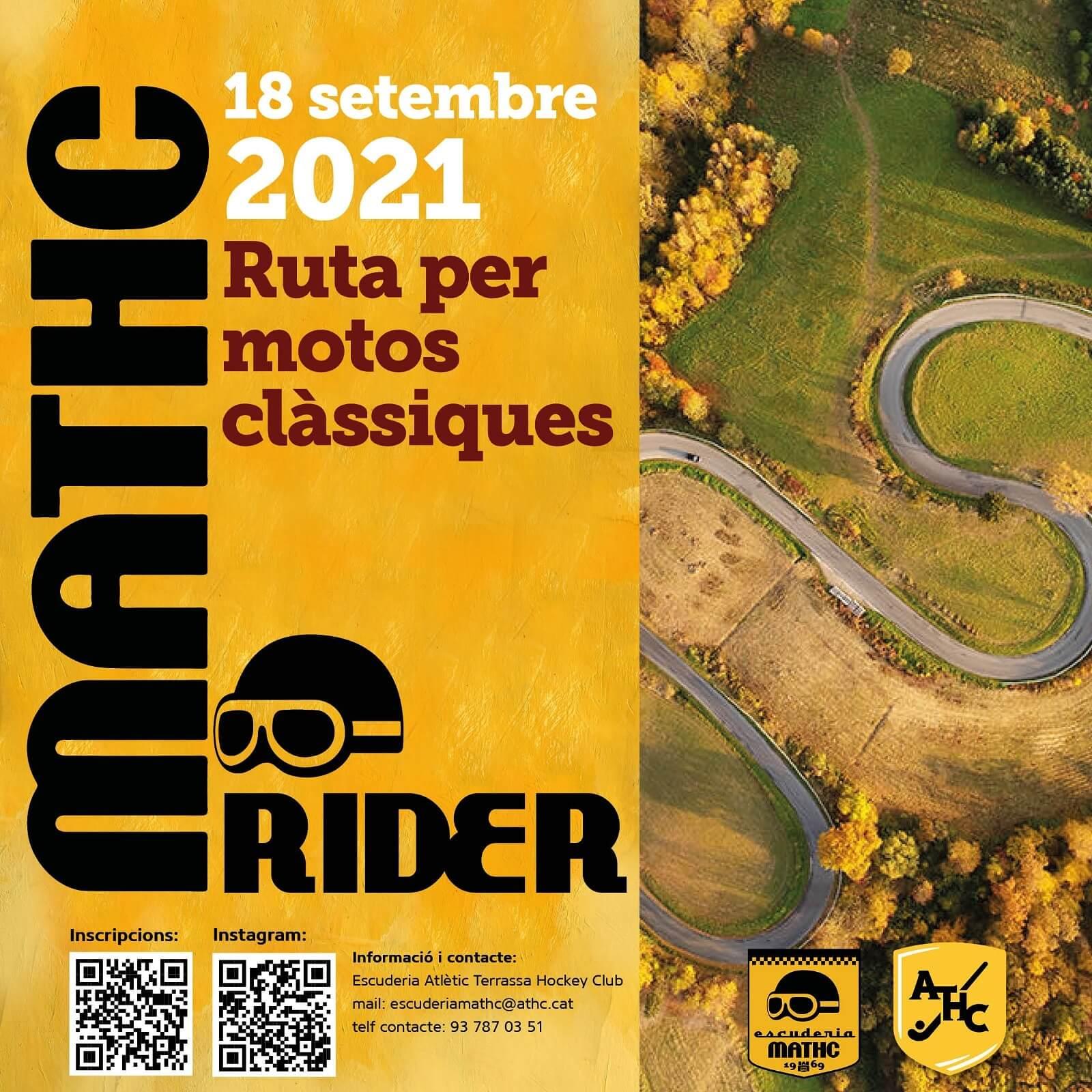 ruta motera en Tarrassa por Escuderia Match