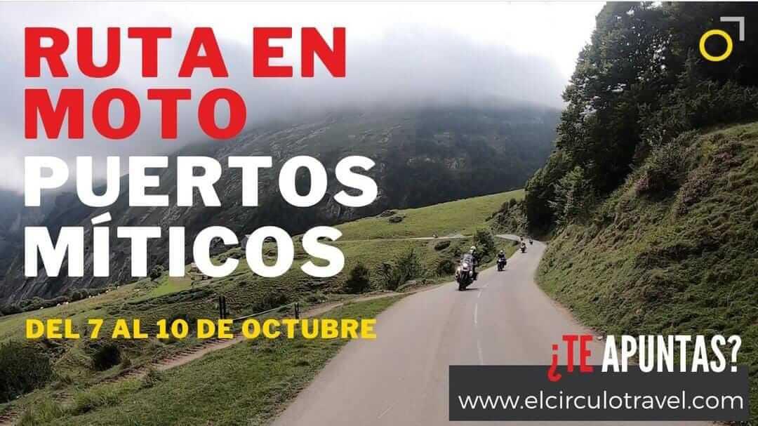 Ruta en moto Puertos Míticos en Huesca