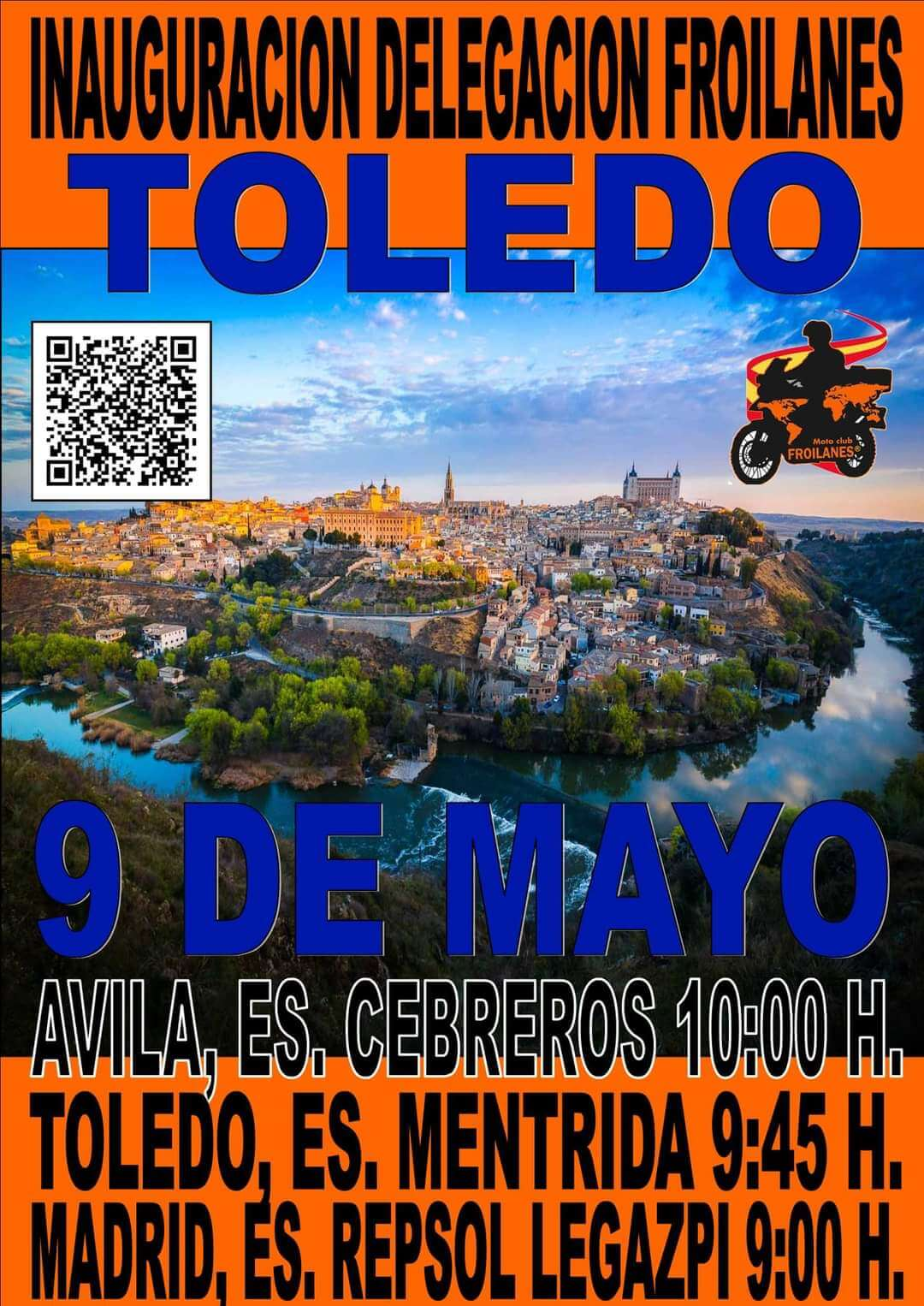 ruta motera por Toledo