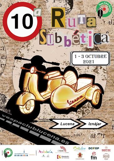 Ruta en Vespa Sub Bética en Lucena