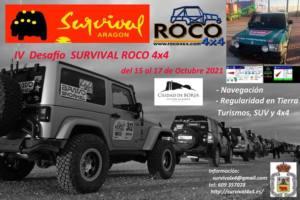 Desafío Survival Roco 4x4 en Zaragoza