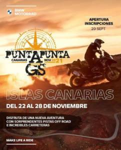 Viaje Motero Punta a Punta en Canarias, por BMW Motorrad