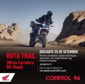 Ruta Trail por Bages, Solsonès i Alt Urgell