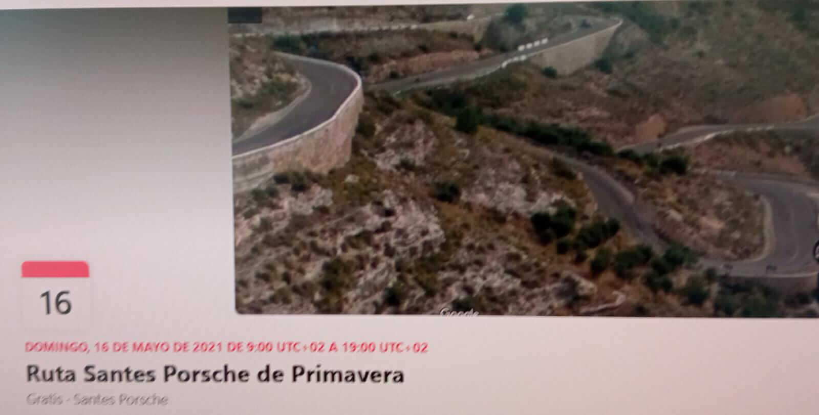 ruta clásicos Porsche en Barcelona