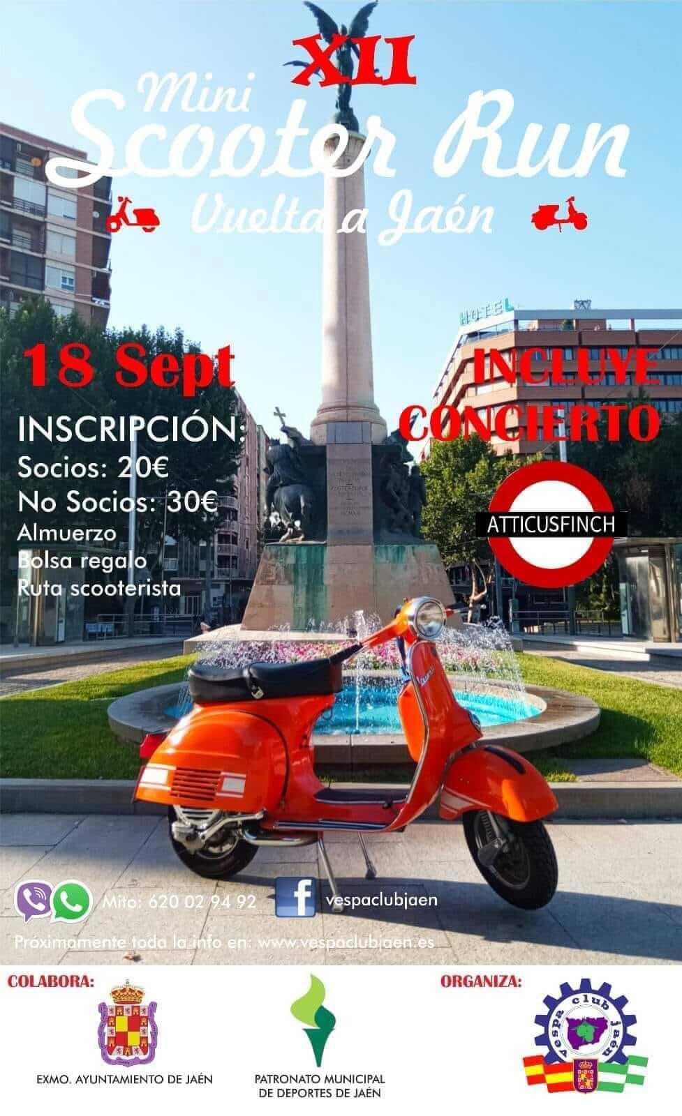 Mini Scooter Run en Jaén