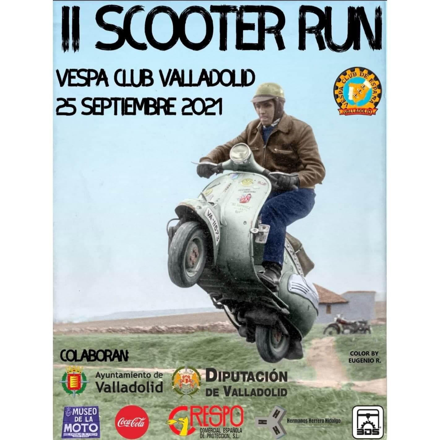Scooter Run en Valladolid