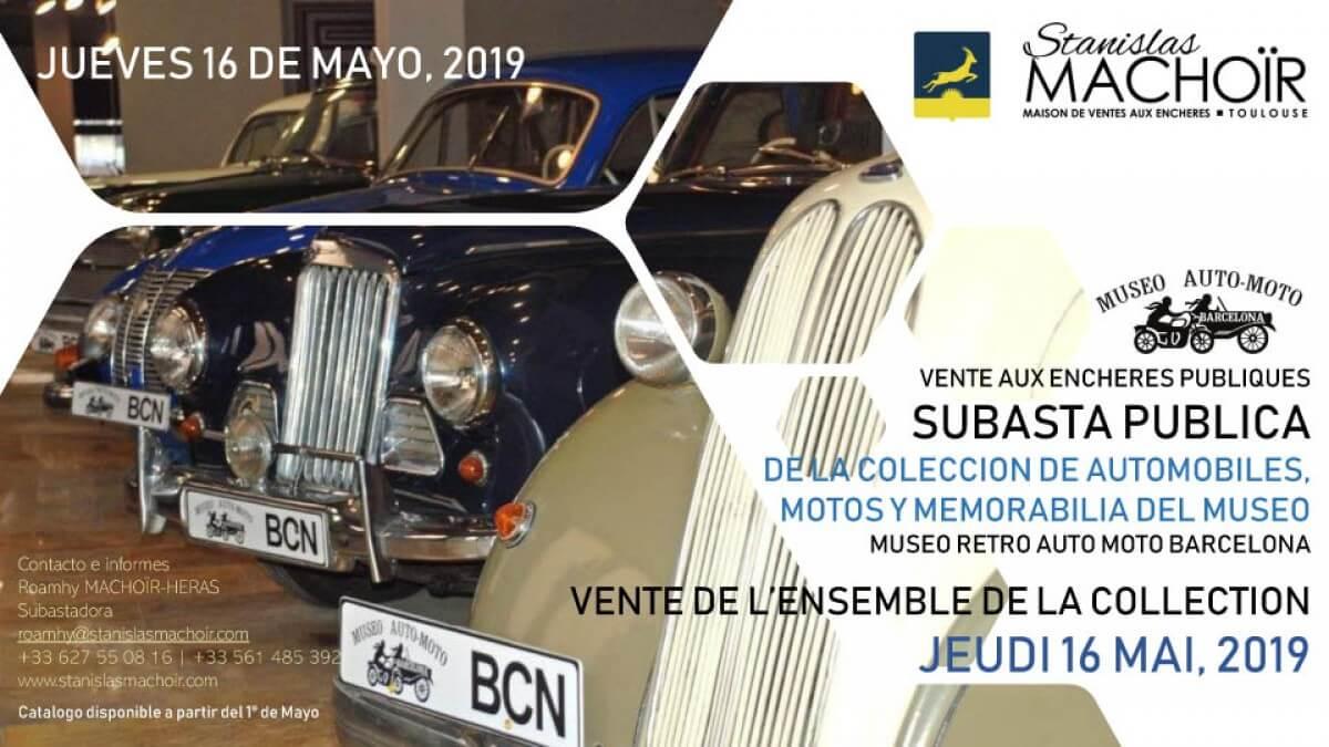 subasta coches clasicos catalunya barcelona