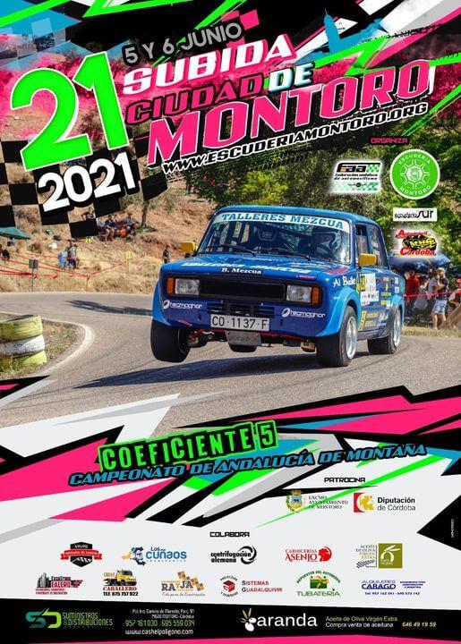 Rally coches subida a la Ciudad de Montoro