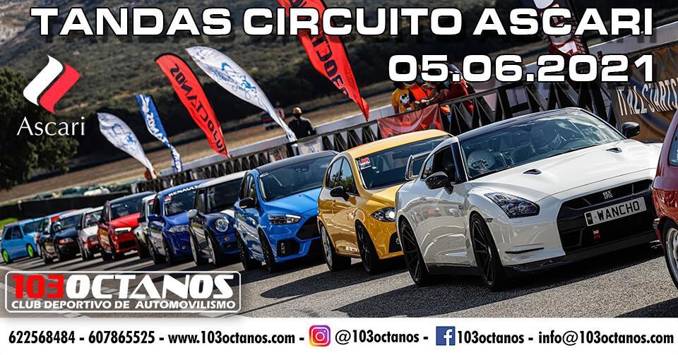 Tandas coche Circuito Ascari
