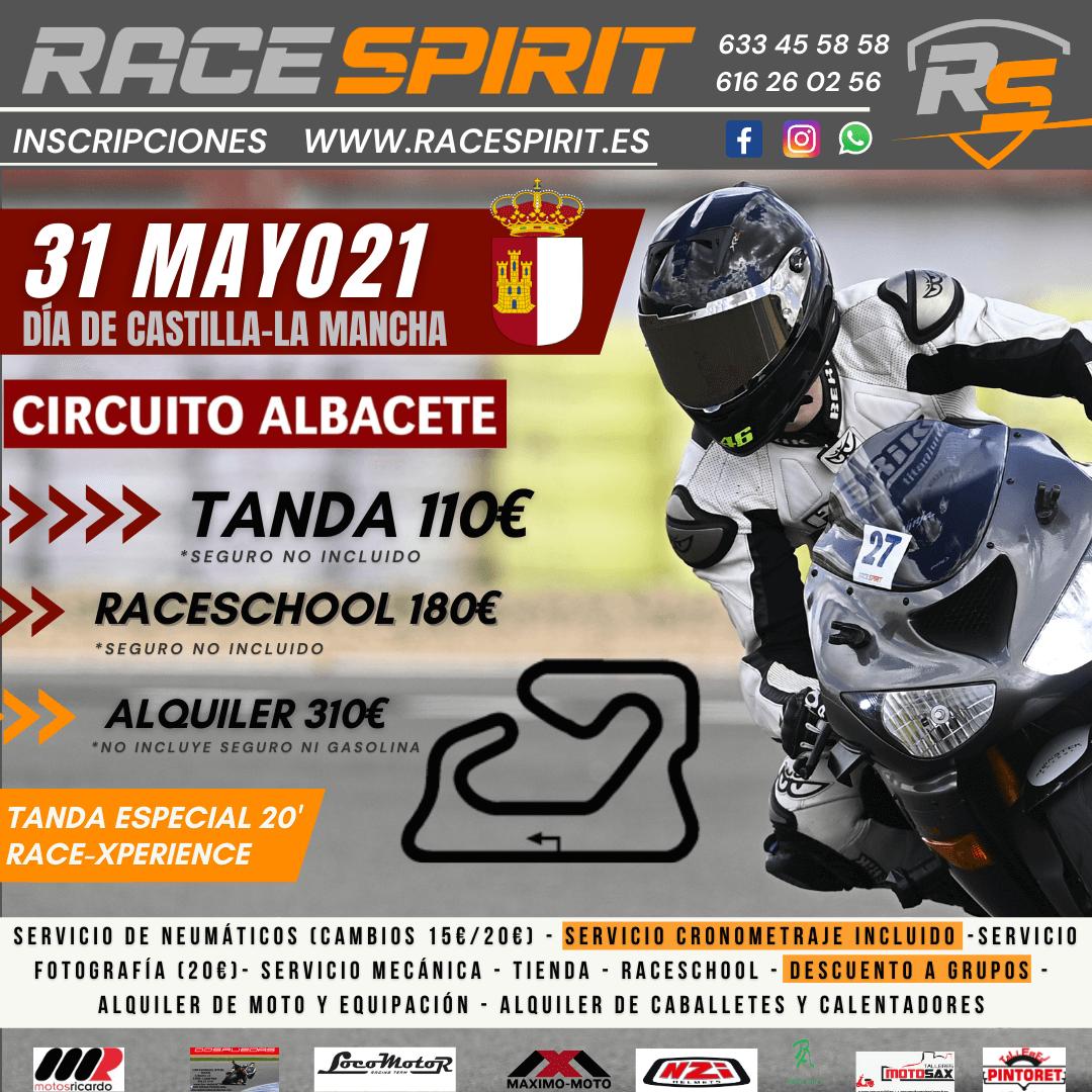 tandas en circuito de Albacete Race Spirit