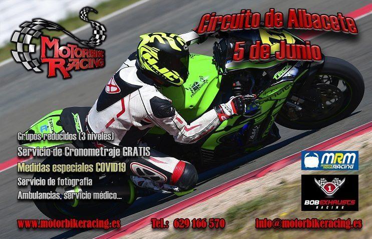 Tandas moto Circuito Albacete