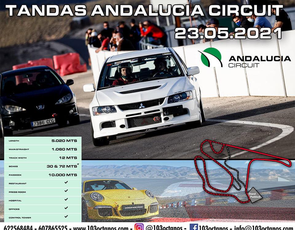 tandas circuito de Almería 103 Octanos