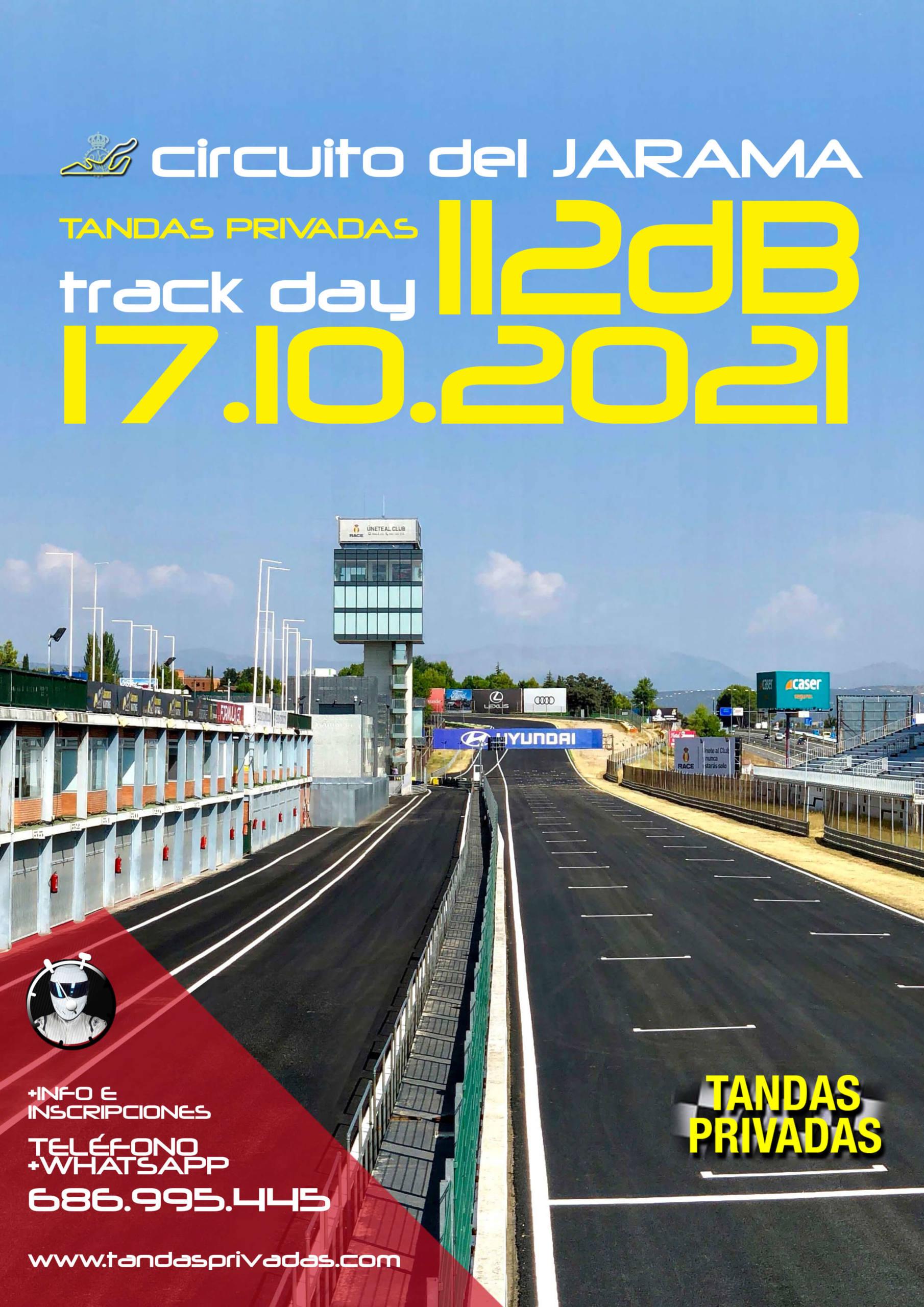 Tandas coches 112dB en Madrid, por Tandas Privadas