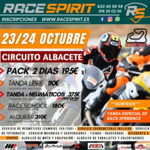Tandas moteras en Albacete, por Race Spirit
