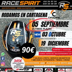 Tandas moteras en Cartagena, por Race Spirit