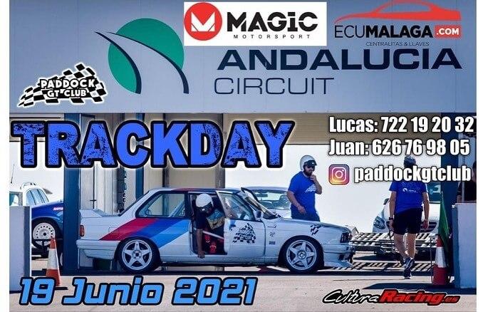 Tandas de coches en el Circuito de Andalucía, en Almería