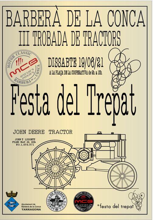 Trobada de Tractors en Barberà de la Conca