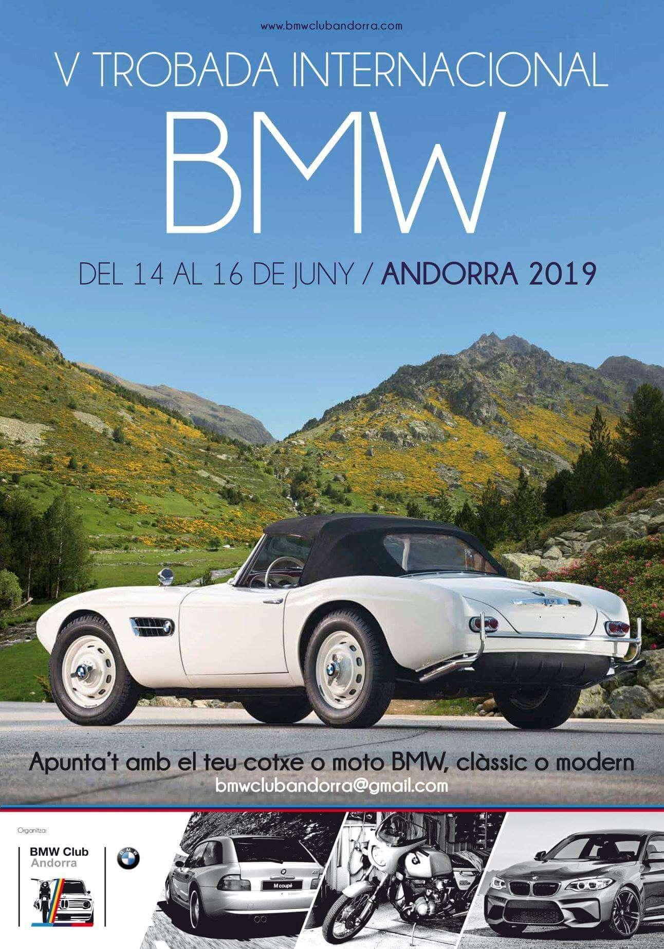 concentracion coches clasicos Andorra