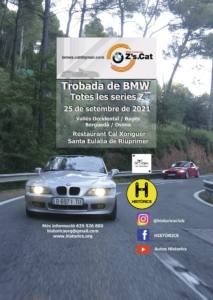 Trobada de BMW serie Z en Santa Eulàlia de Riuprimer, por Historics
