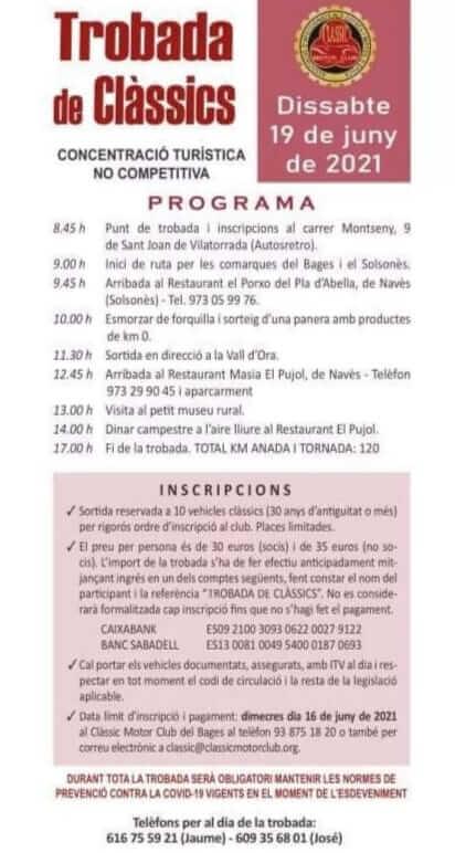 Trobada de Clàssics de Sant Joan de Vilatorrada