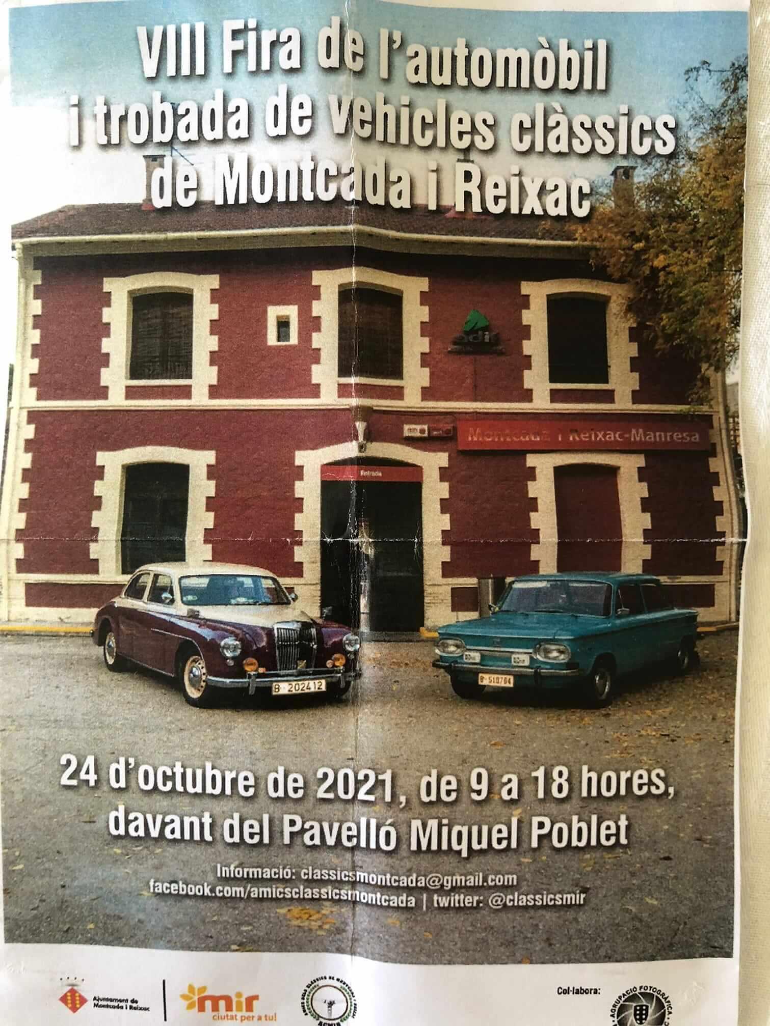 Fira de l'automòbil i trobada clàssics de Montcada i Reixac, Barcelona