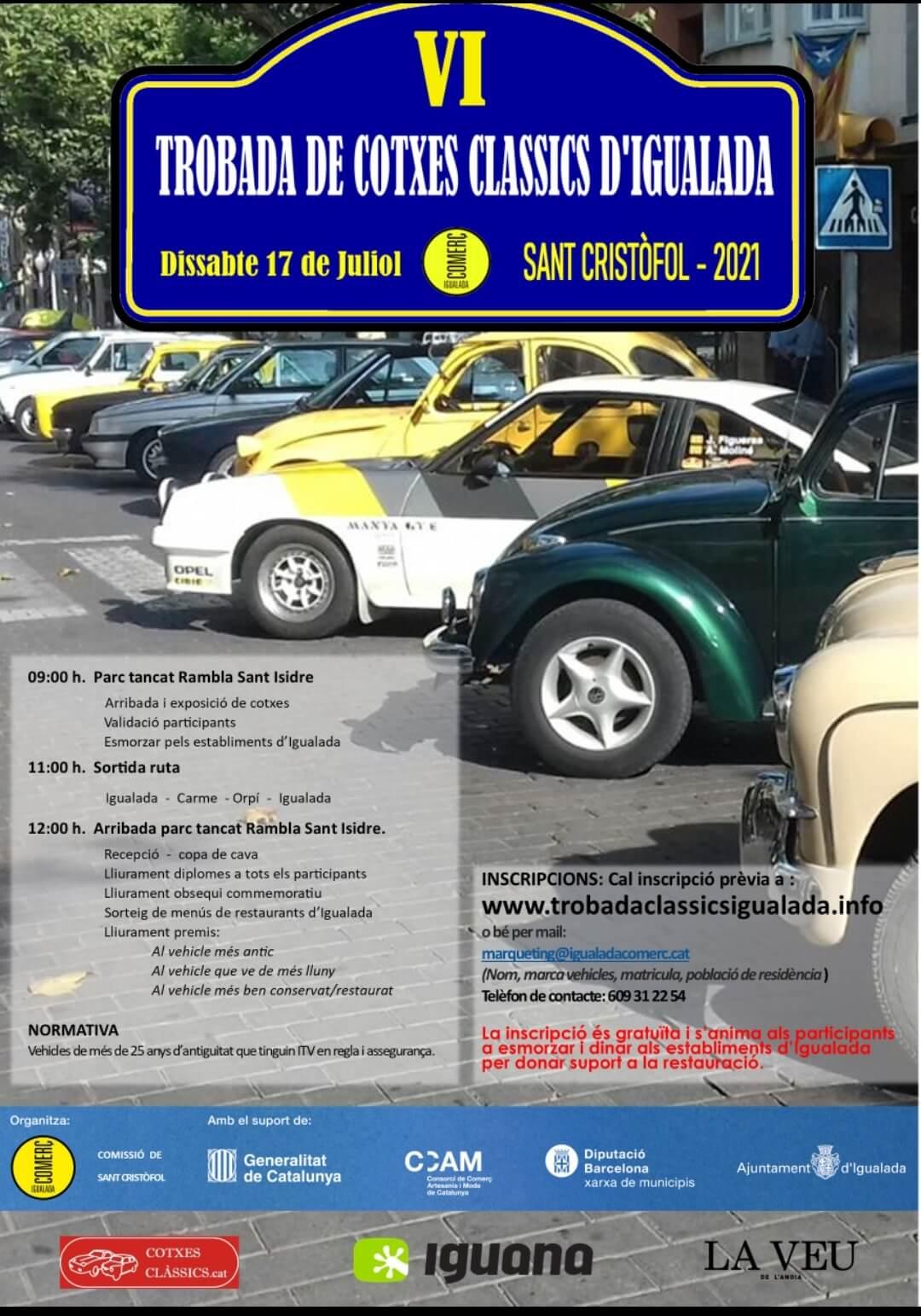 Trobada Cotxes Clàssics D´Igualada, Barcelona