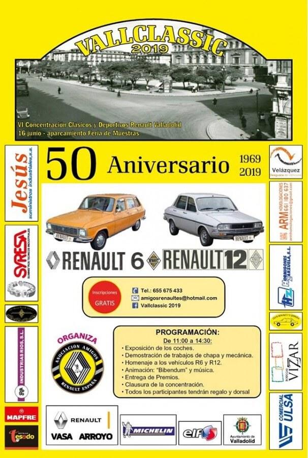 Concentraciones coches clasicos Valladolid